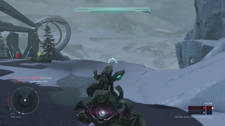Zeptari playing Halo 5: Guardians