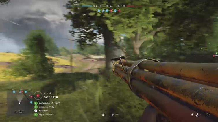 willszenith2 playing Battlefield V