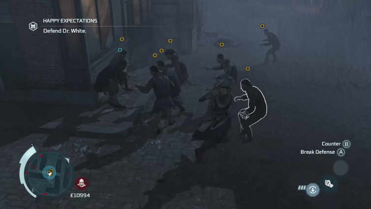 Dark Confused playing Assassin's Creed III