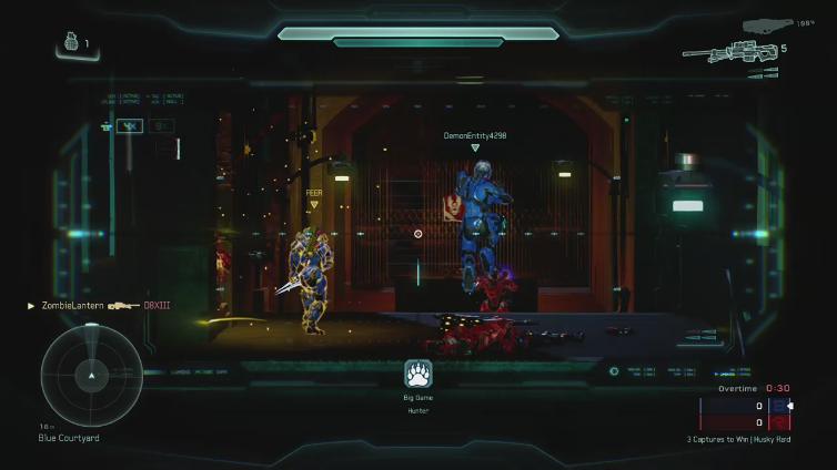 ZombieLantern playing Halo 5: Guardians