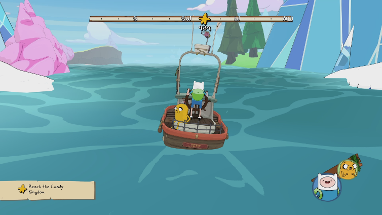 Hey Drinka playing Adventure Time: Pirates of the Enchiridion