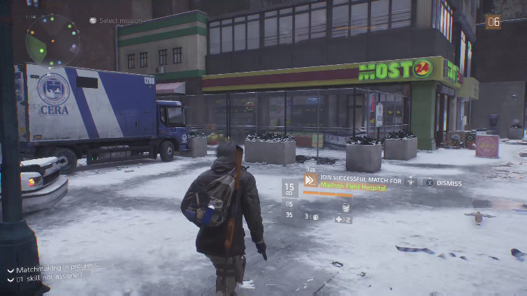 Plus Wun playing Tom Clancy's The Division