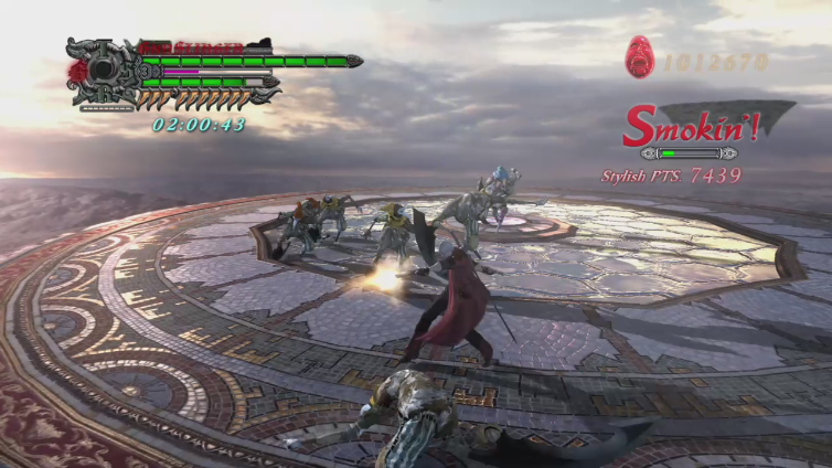 Your1stillusion playing Devil May Cry 4 Special Edition